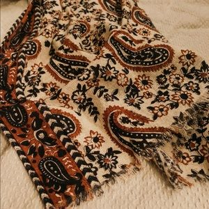 Madewell paisley scarf